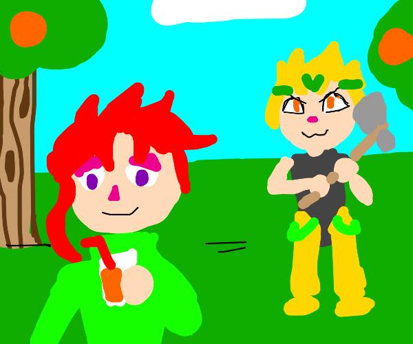 JJBA/Animal Crossing Crossover
