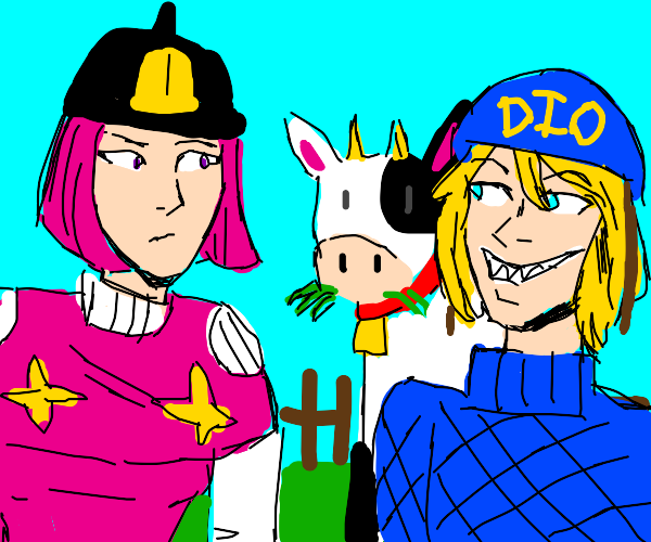 Hot Pants and Diego Brando 'Kuh'