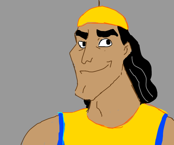 kronk from the empires new groove