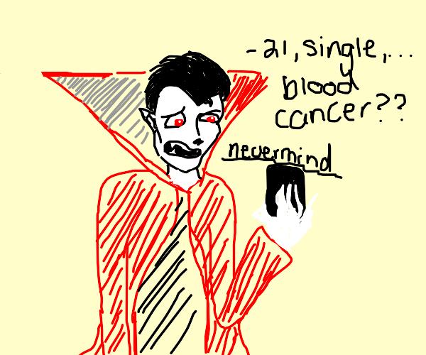 Vampire on Tinder