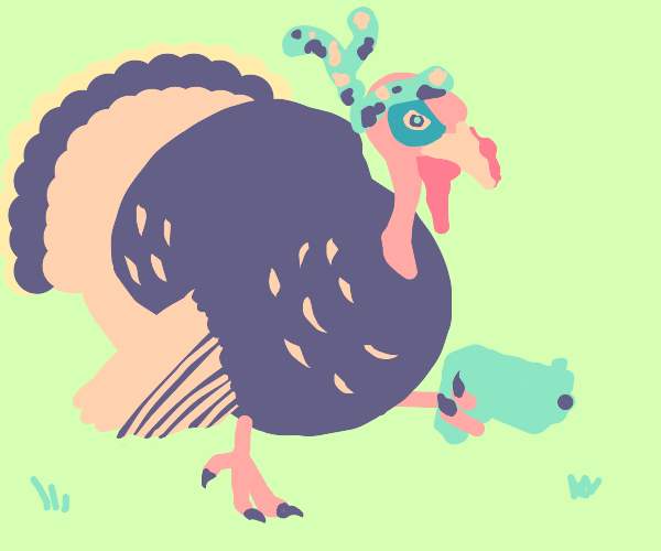 Thanksgiving turkey seeks vengeance