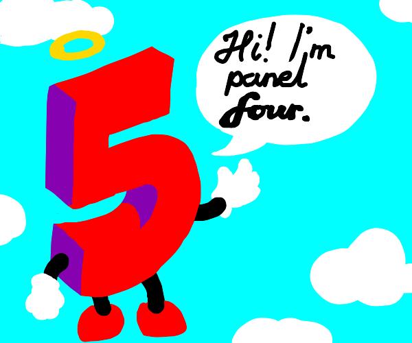 Panel 4 acts like panel 3