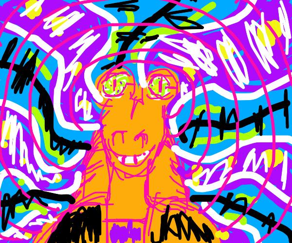 Jar Jar Binks on LSD.