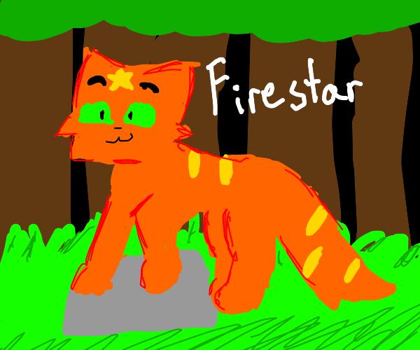 FireStar From Warrior Cats