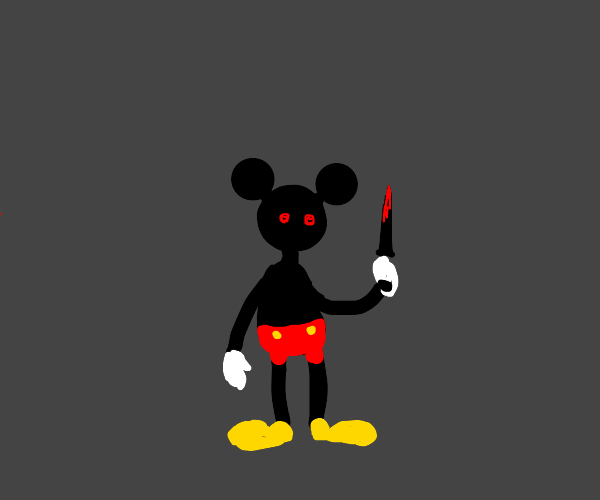 murderous micky mouse