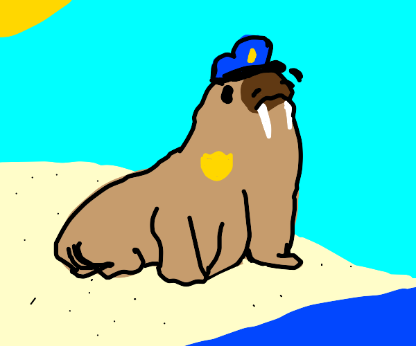 Walrus security guy