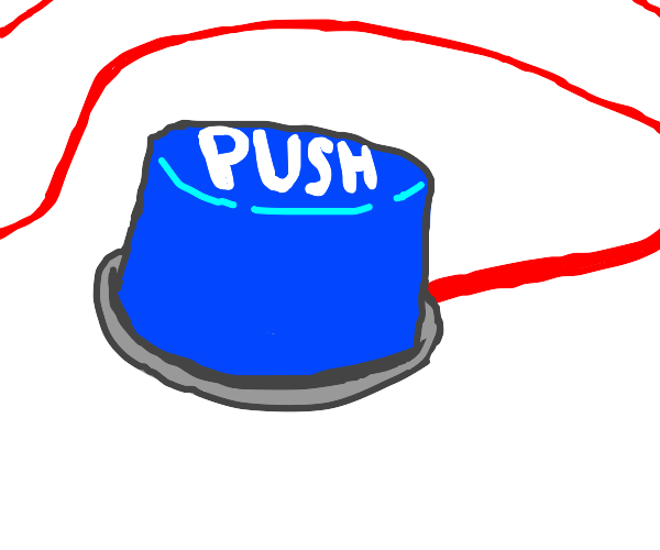 blue push button