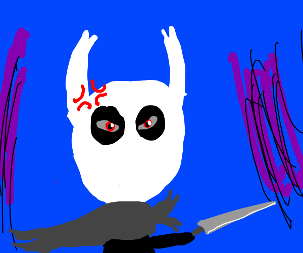 Hollowknight is angry
