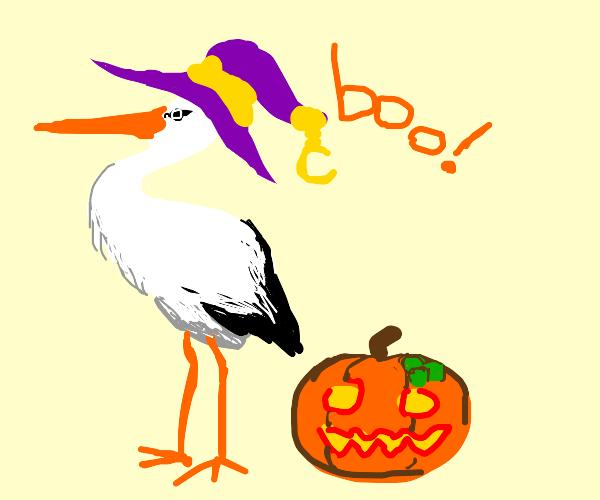 Spooky Stork!