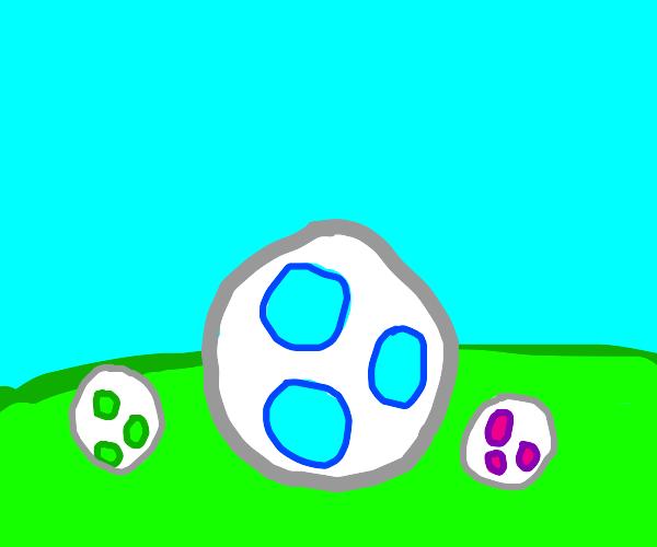 Yoshi eggs