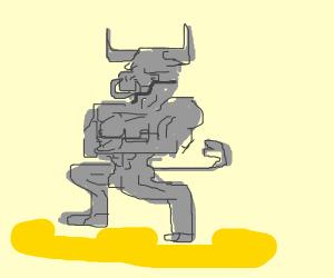 Minotaur Sculptor