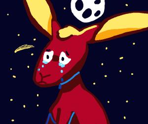 said bunny with a bowtie