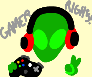 alien supports gamer rights