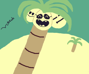 Exeggutor At the Beach