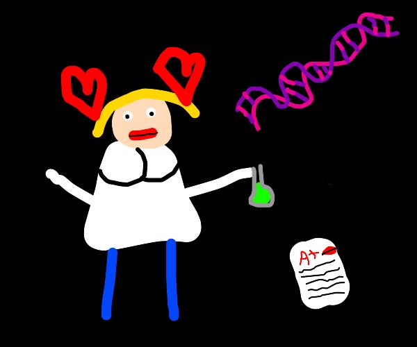 Your chemistry teacher is a milf