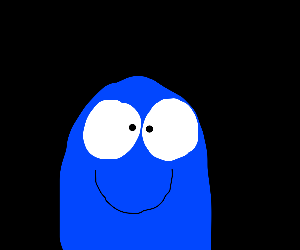 Bloo from Foster's Home of Imaginary Friends