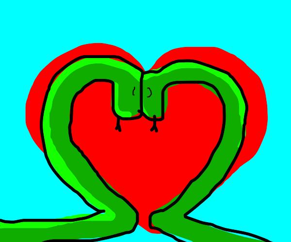 snake love