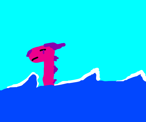 Pink sea dragon