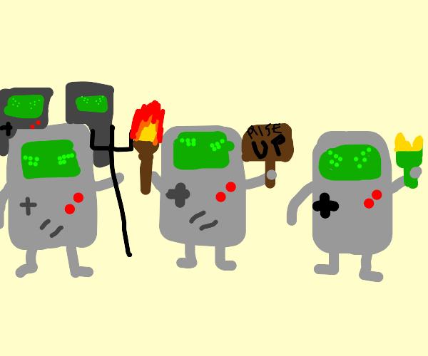Gameboy uprising
