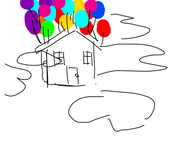 House from the movie Up