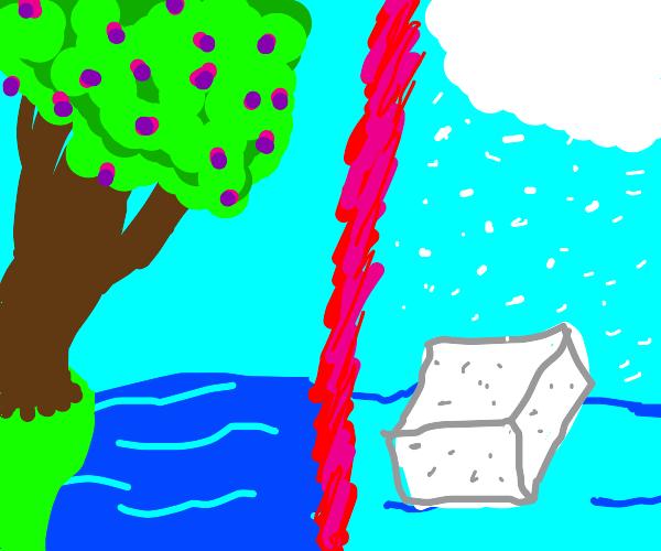 spring water vs winter water