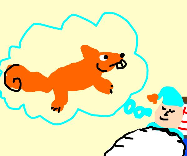 Dreamlike Squirrel