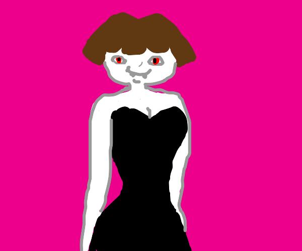Dora the Explorer became a sexy vampire