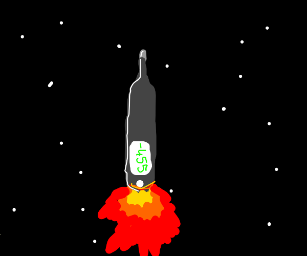 thermometer rocket