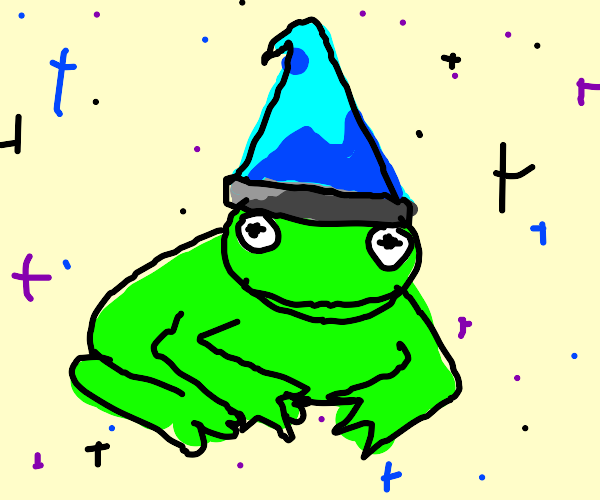 Frog wizard