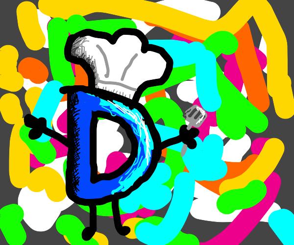 Drawcetion chef