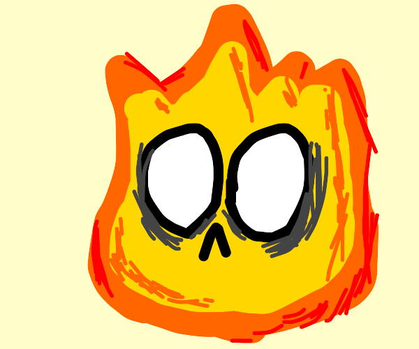 Fire has a face