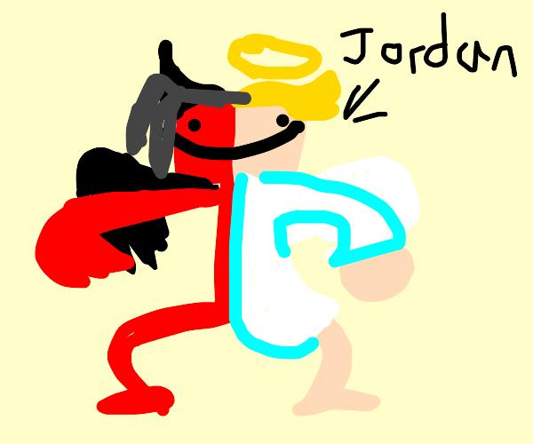 Jordan/ Cute /Half Devil/Half Angel