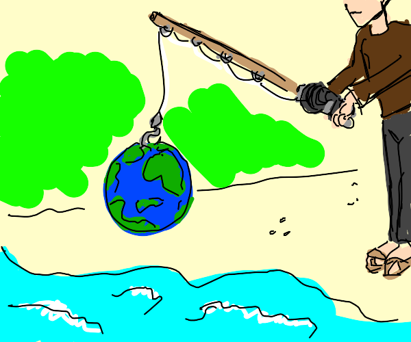 Fishing for Earth