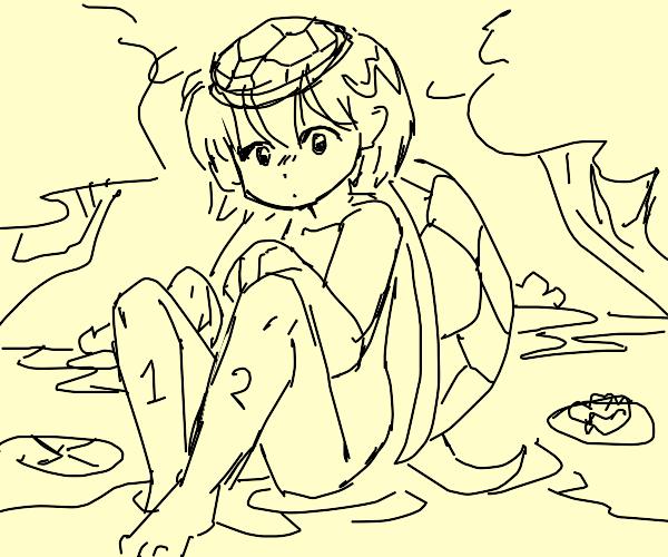 2-legged man-turtle