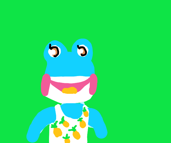 Any frog animal crossing villager