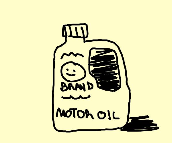 Car Oil Bottle