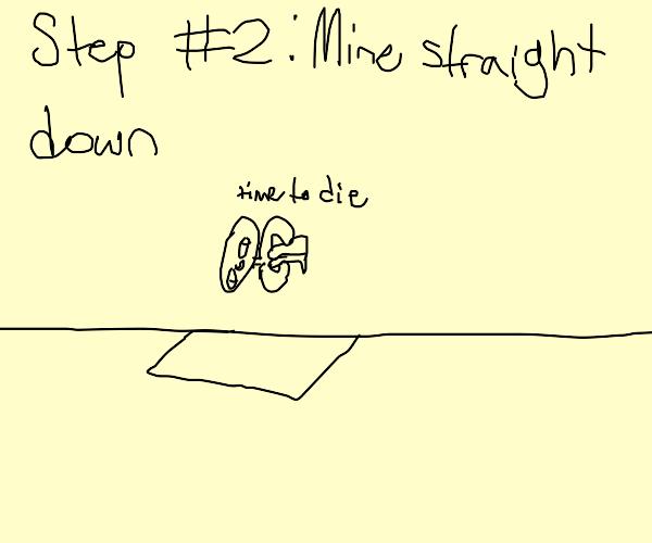Step 1: start a minecraft letsplay