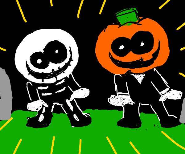 """Sr Pelo's """"it's spooky month"""""""