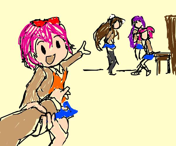 Joining the Doki Doki Literature Club!!!