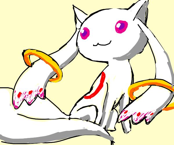 Kyubey from Madoka Magica