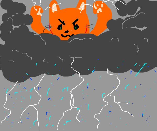 Cat, ruler of weather.