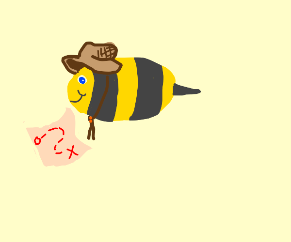 Bee has a quest