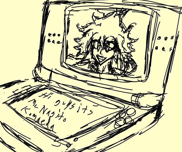 ITS ME NAGITO KOMAEDA ON THE NINTENDO DS