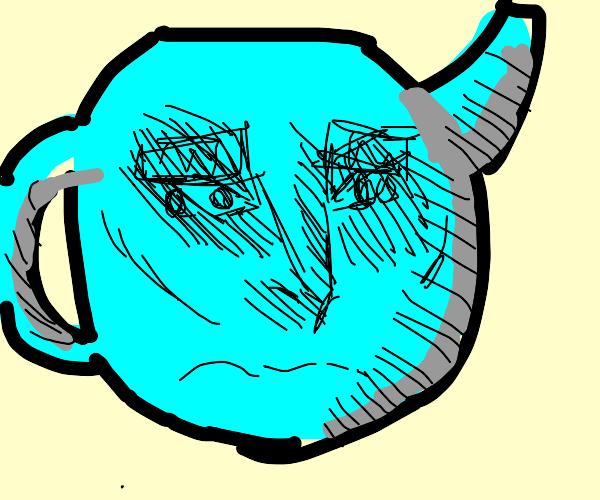 sad teapot