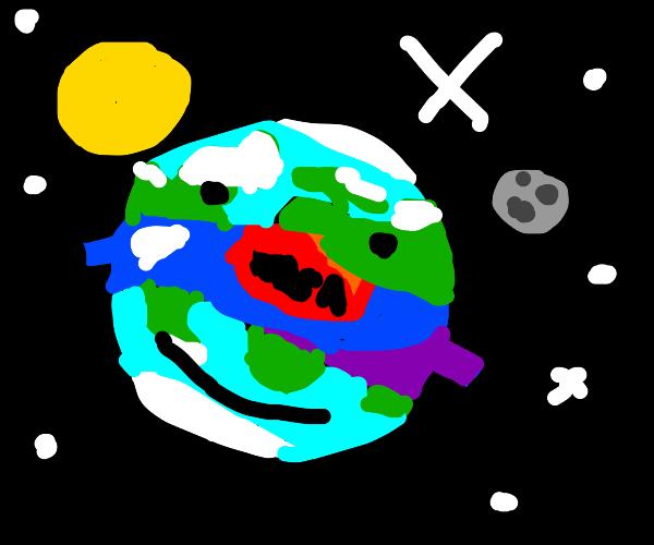 Earth is a NASA Fan