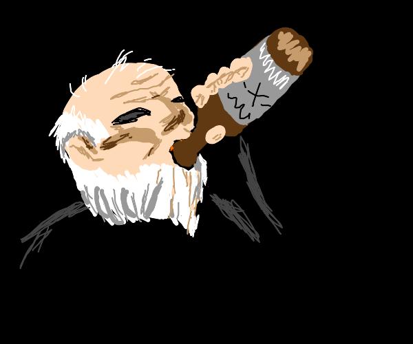Alcoholic JJBA Character