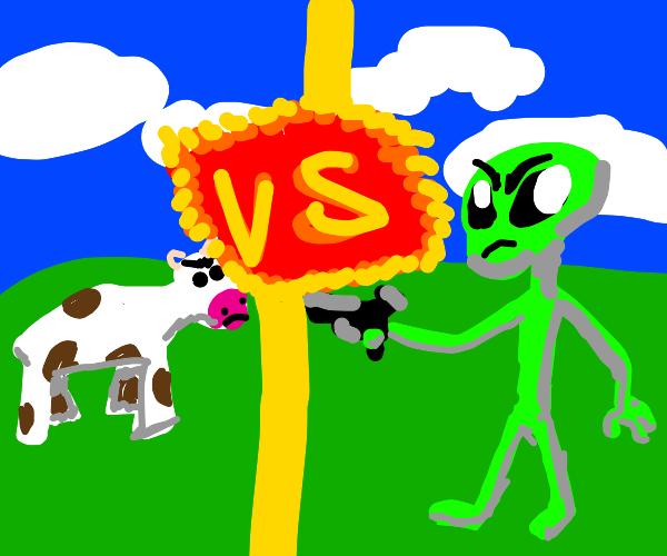Cows vs. Aliens now,DreamWorks!