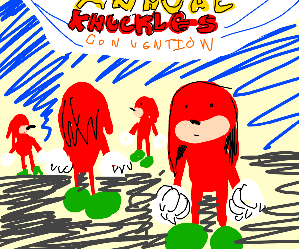 The annual Knuckles convention