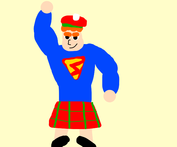 Scottish Superman