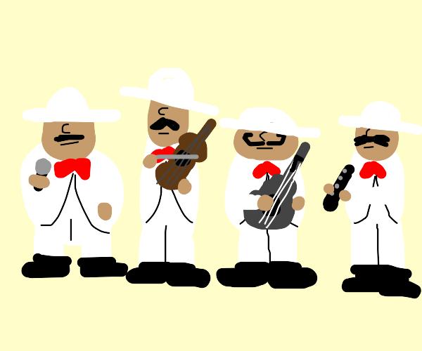 Four-man band